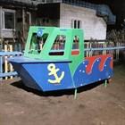 Новое уличное оборудование для детского сада Тосненского района